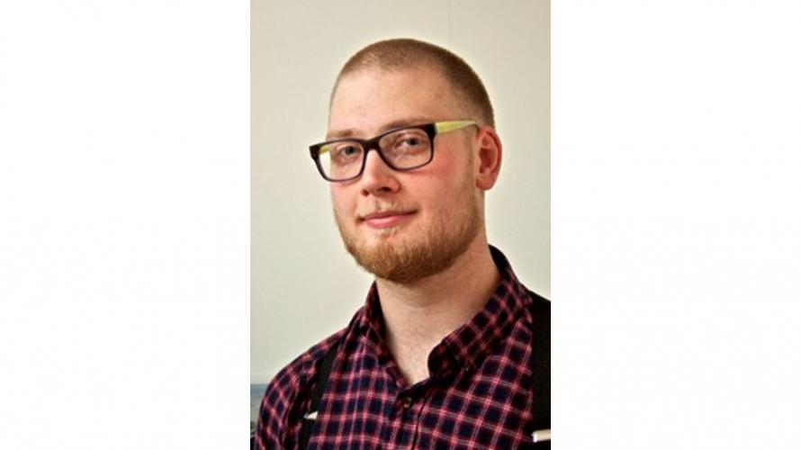 Porträtt av Christian Svensson.