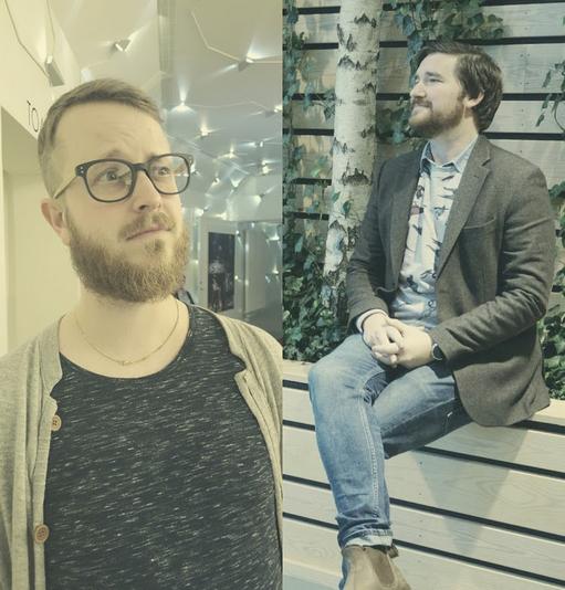 Fredrik och Daniel.