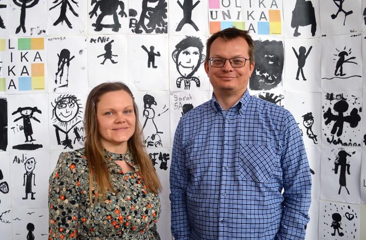 Nina och Magnus Hemborg.