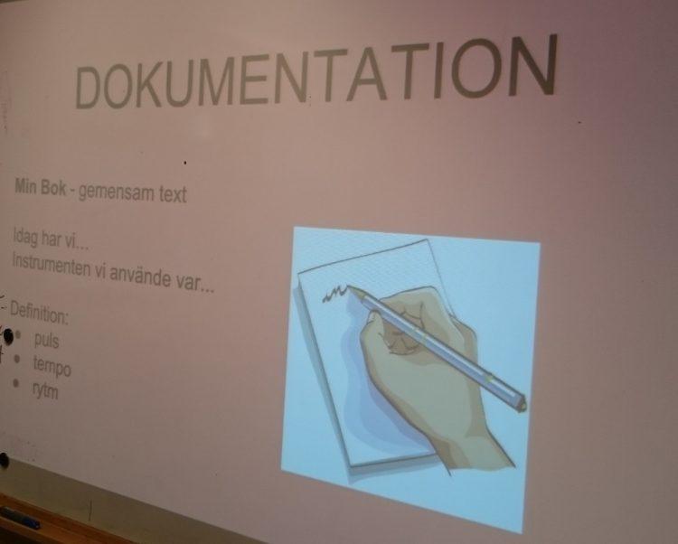 Text om dokumentation.