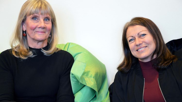 Gunilla Ödhall och Åsa Rantzow.