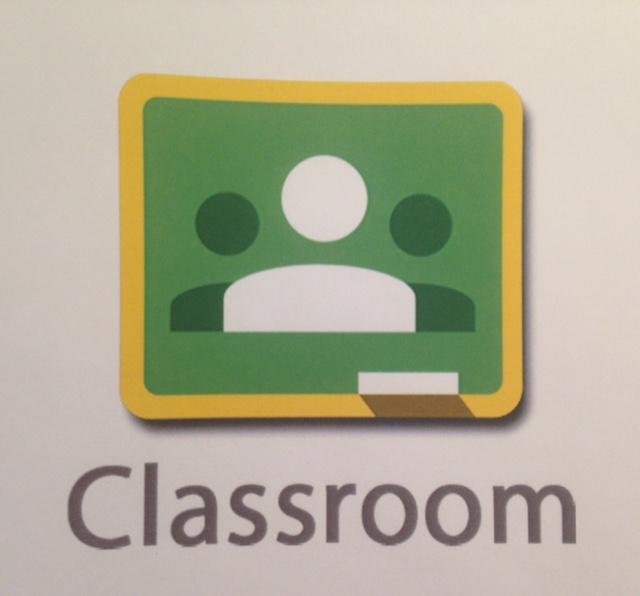 Appikon för google classroom.