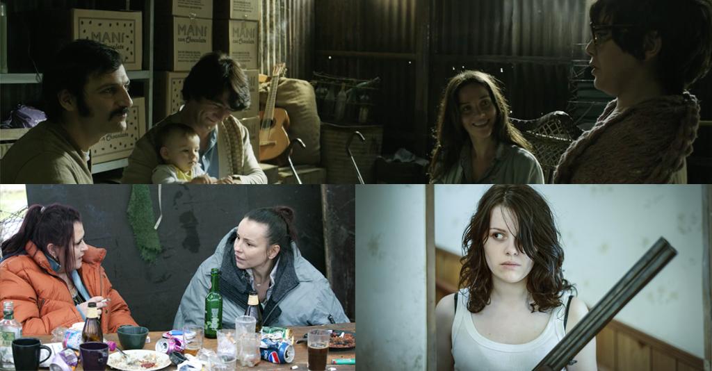 Omslag till fyra nya filmer.