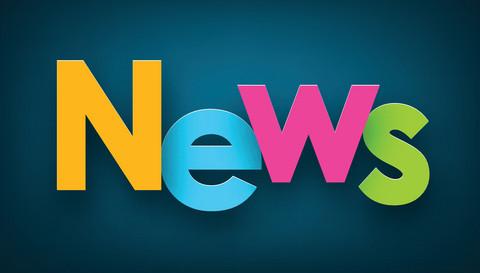 News står i färgglada ord.
