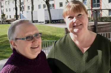 Eva Åberg och Tina Malmgren.