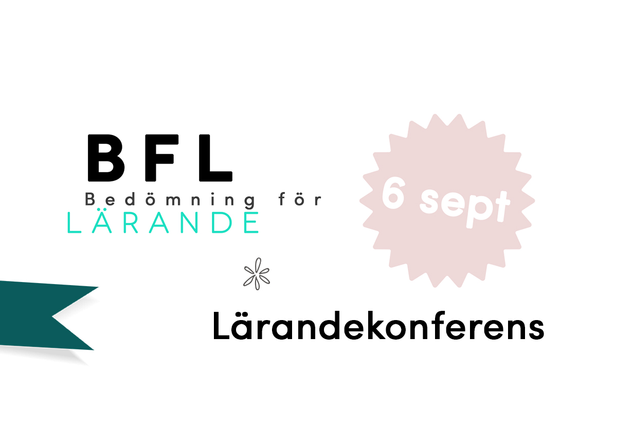 Logotyp för lärandekonferens om BFL.