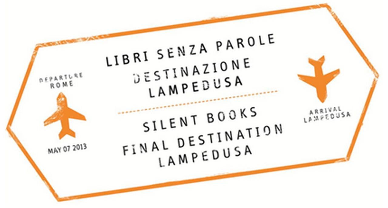 Stämpel där det står Lampedusa.