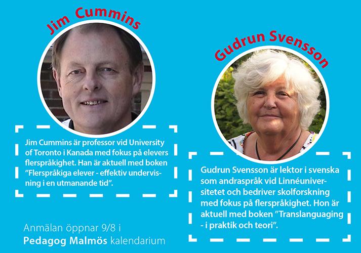 Jim Cummins och Gudrun Svensson.