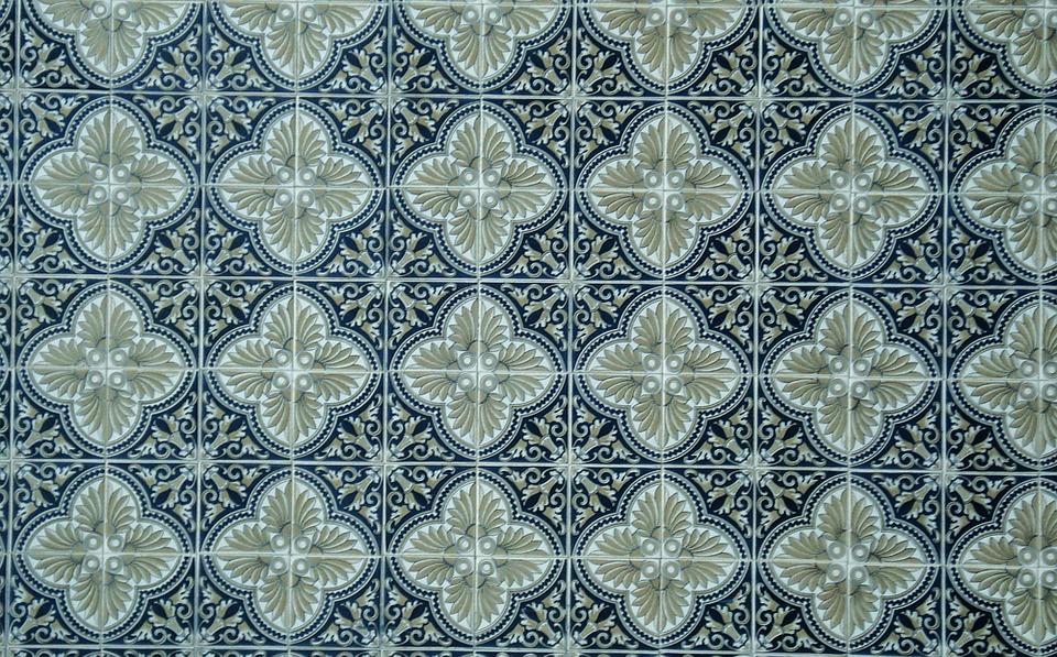 Mosaikkakelplattor.