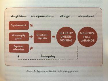 Sammankopplade rektanglar om effektiv undervisning.