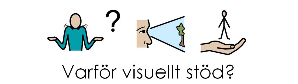 Bildstöd för att ställa fråga Varför visuellt stöd?