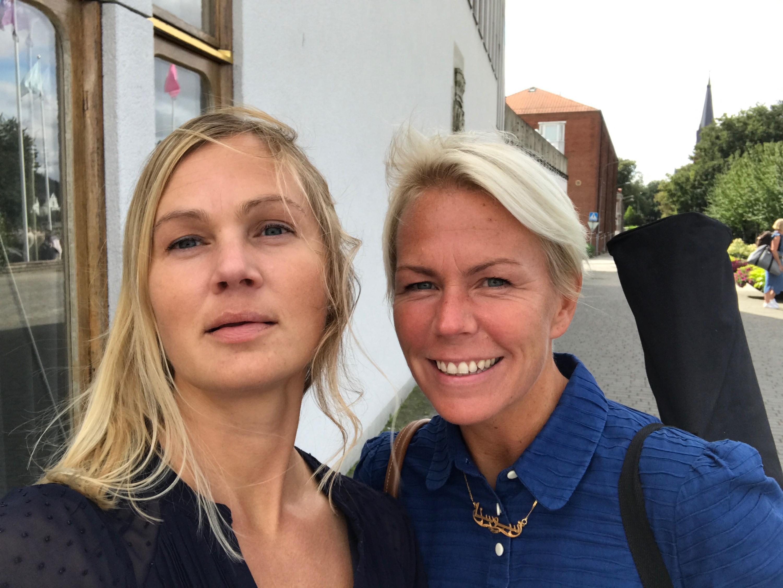 Sanna Sjöstrand och Ewa-lotta Benndoff.