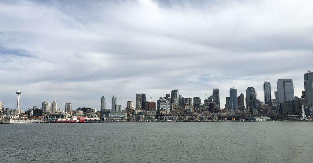 Vy över Seattle.