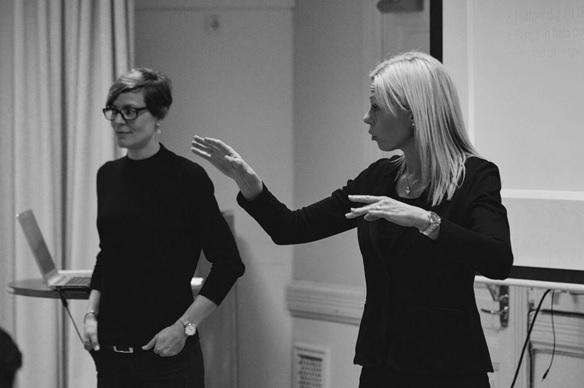 Annika Nilsson och Lena Winquist.