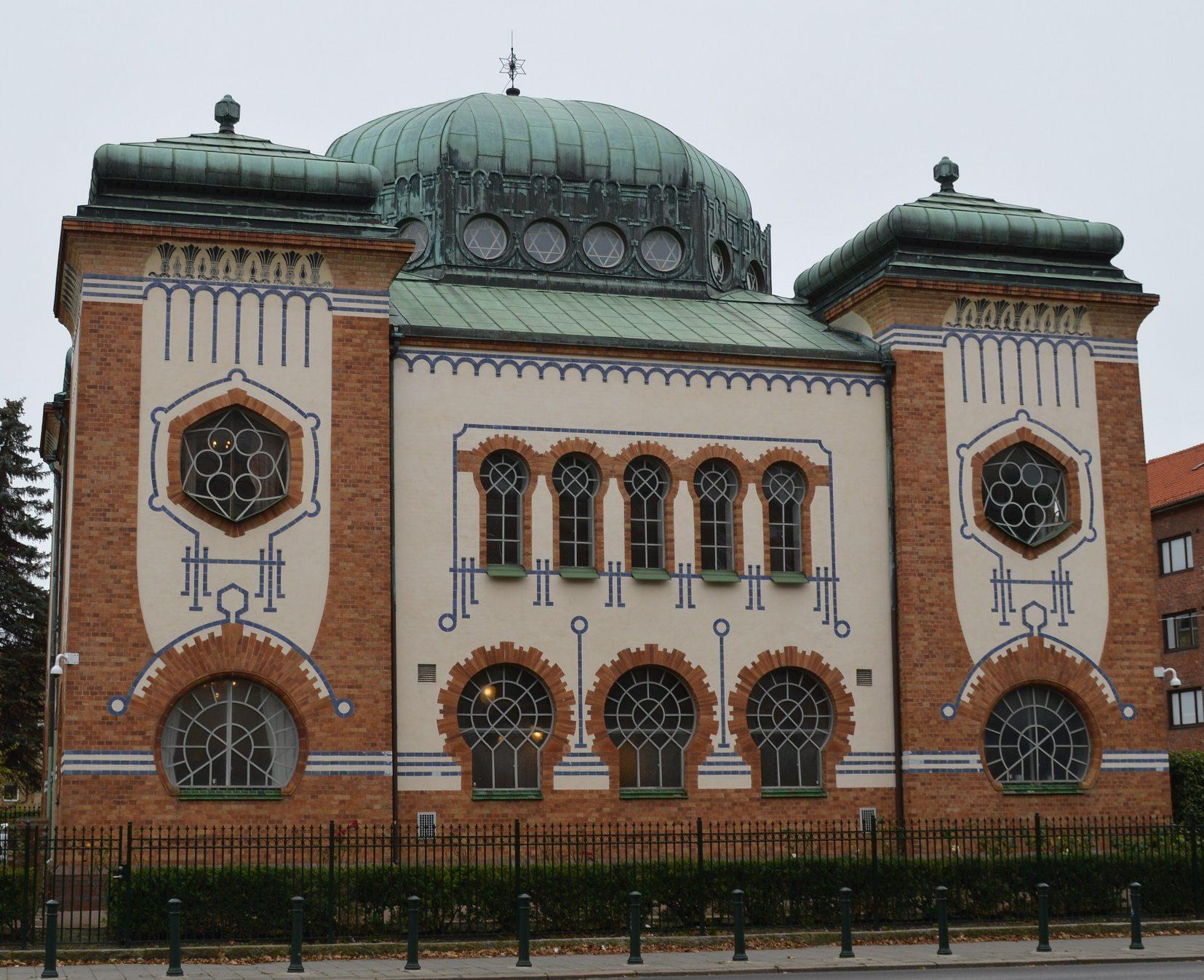 Malmö synagoga 2017.