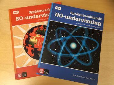 Omslag till språkutvecklande undervisning inom olika ämnen.