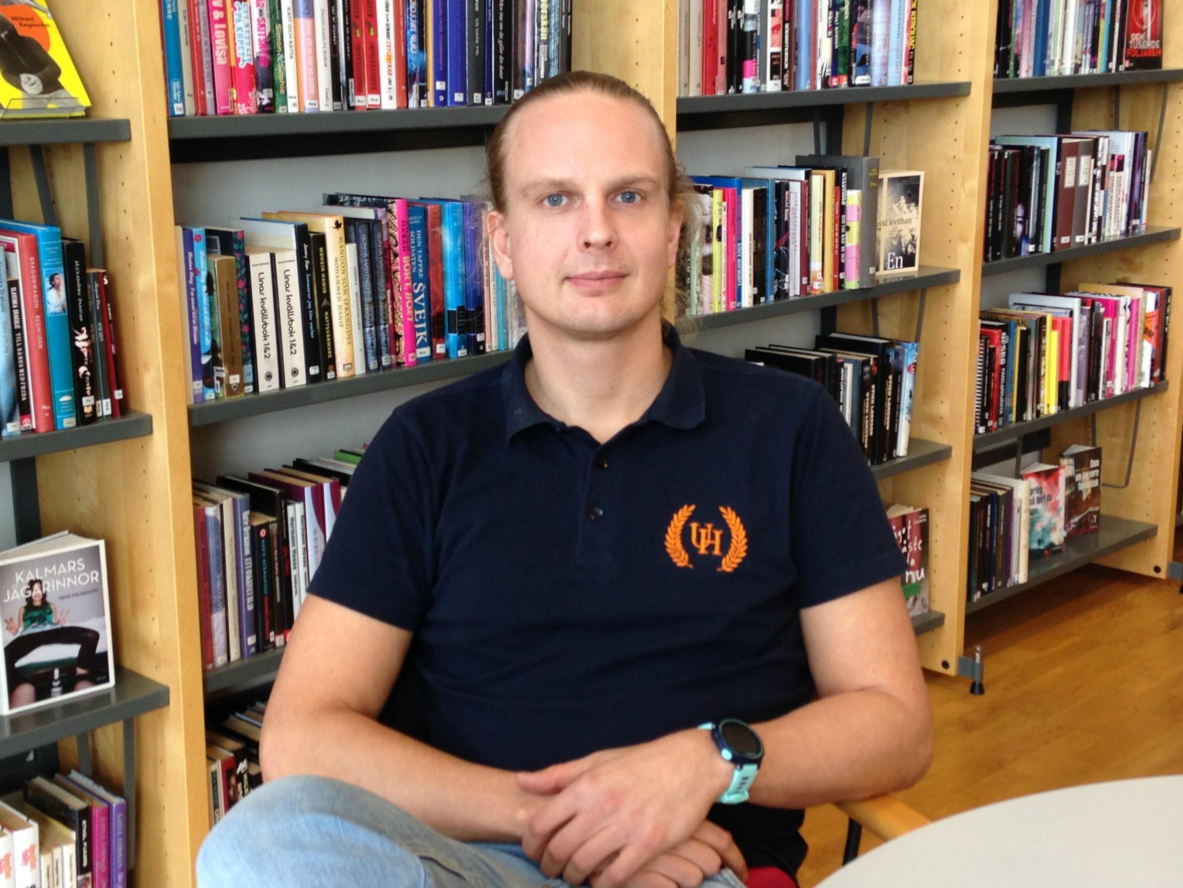 LO i bibliotek.