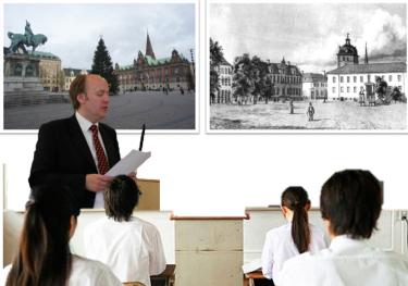 Björn Westerström föreläser.