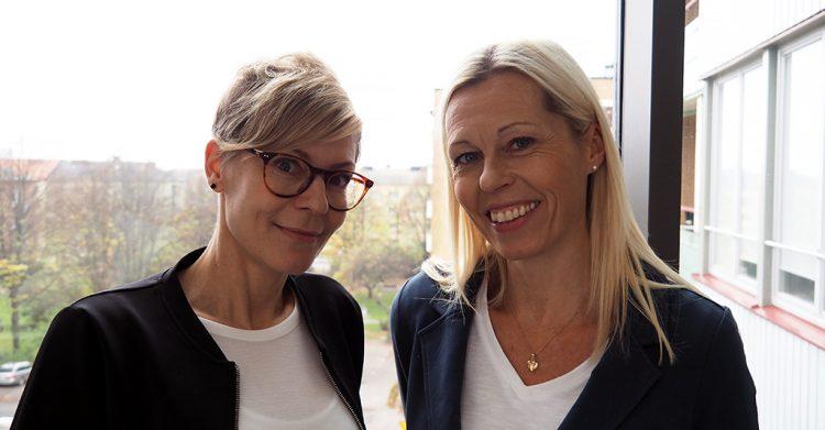 Annika Nilsson och Lena Winqvist.