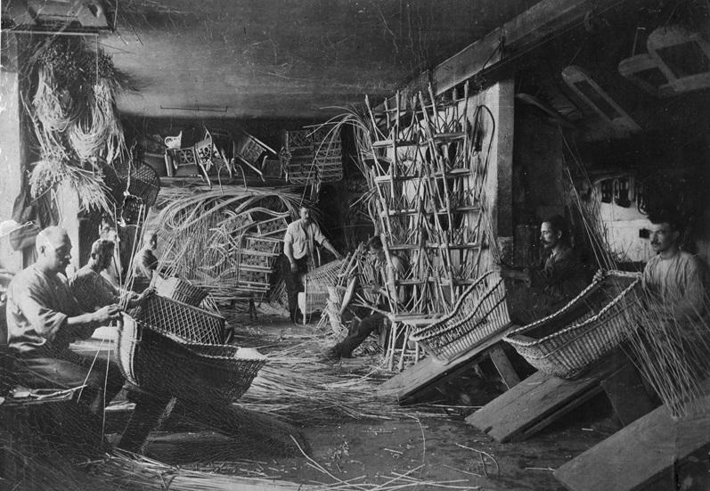 Bild ur gammal fabrik.