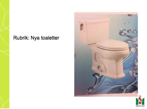 Toalettstol.