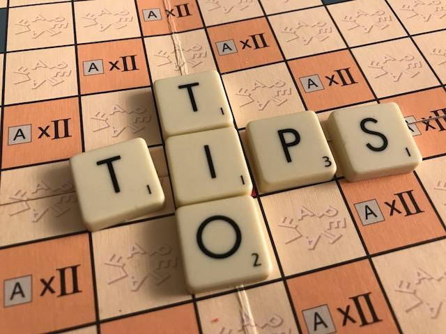 Alfapetbrickor bildar orden: tio tips.