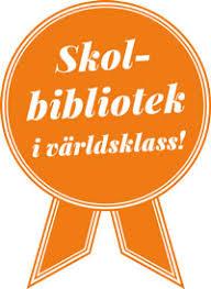Medalj för skolbibliotek i världsklass.