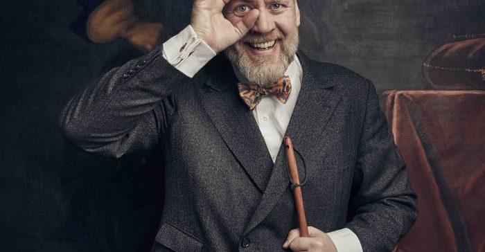 Porträtt på Björn Westerström