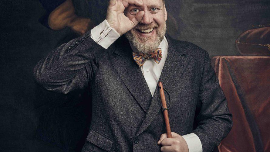Porträtt på Björn Westerström.