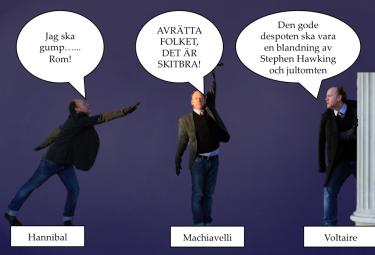 Björn Westerström i olika positioner.