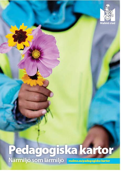 Framsida på broschyr om pedagogiska kartor.