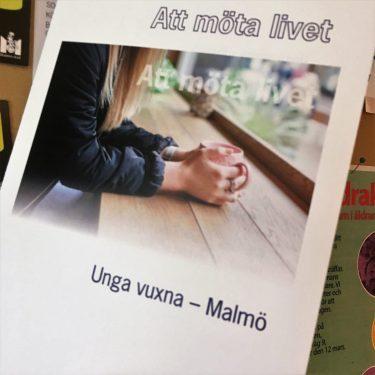 Omslag på broschyren Att möta livet.
