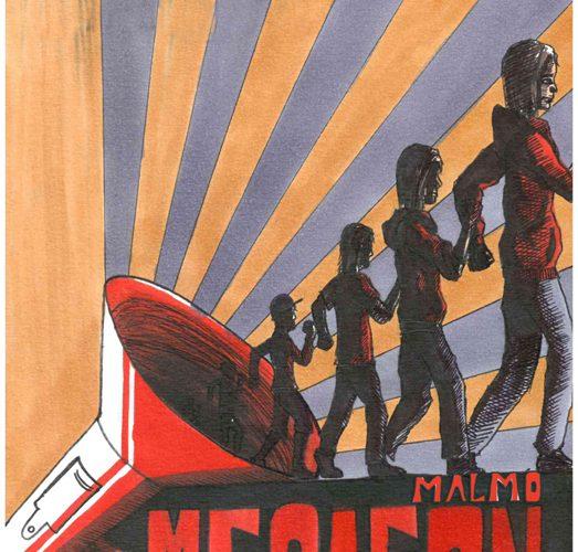 Affisch för Megafon.
