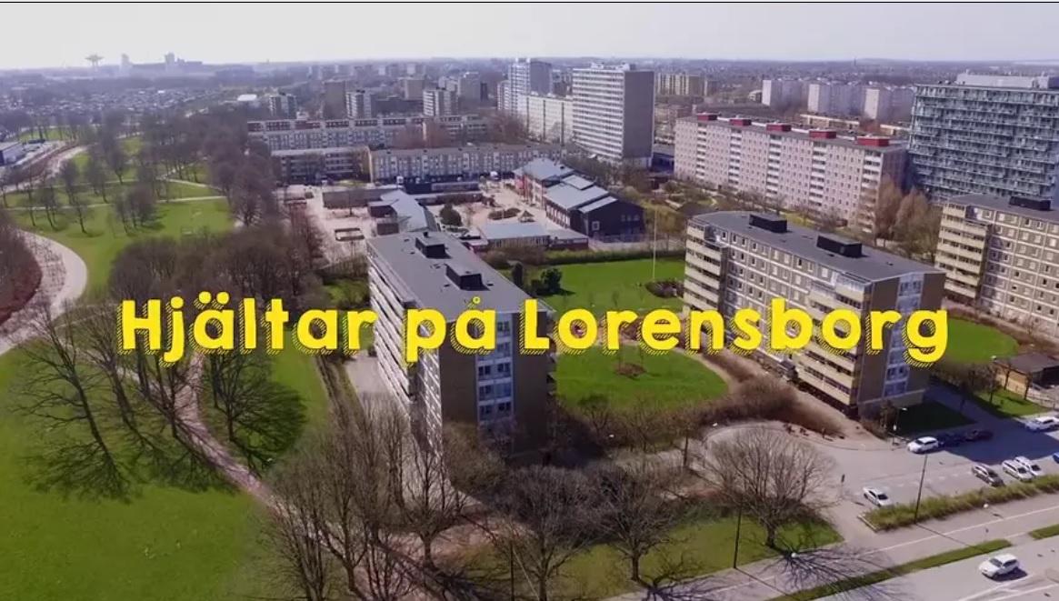 Vy över Lorensborg.