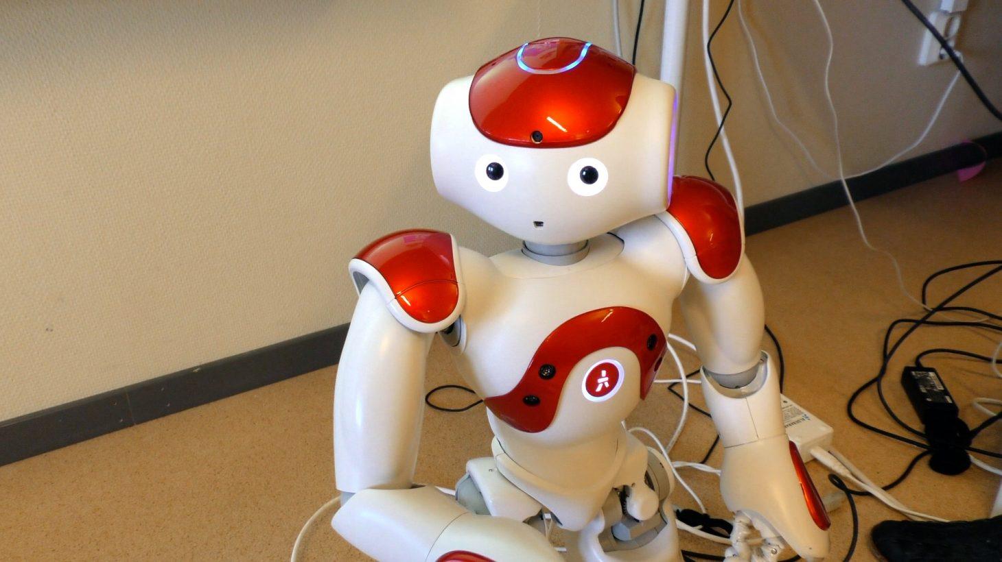 en programmeringsbara humanoidroboten blir för Rosalinda Estrada ett viktigt led i att underlätta för eleverna på grundsärskolan att kommunicera och träna på sociala färdigheter.