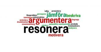 Ordmoln med olika språkliga förmågor.