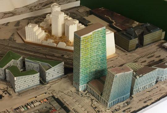 3D-modell över malmö.