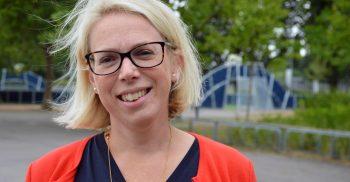 Porträttbild på Cecilia Larsson Ståhl