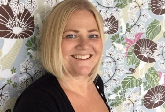 Jenny Zander, rektor på Lorensborgsskolan.