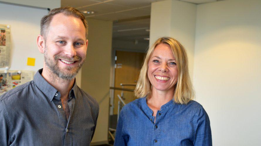 Pierre Löfström och Ingela Hansson