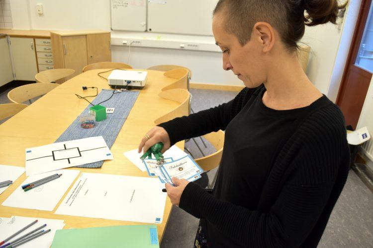 Jennie Rosén, förstelärare på Oxievångsskolan.
