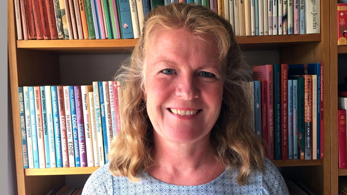Agneta Bergman, förstelärare på Lorensborgsskolan.
