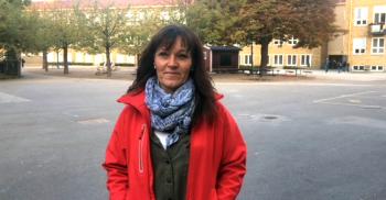 Annica Lindvall, fritidspedagog på Ribersborgsskolan.