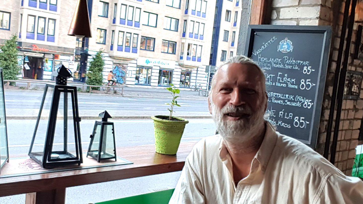 Claes Ahlgren, förskolepedagog på Stensjöns förskola.