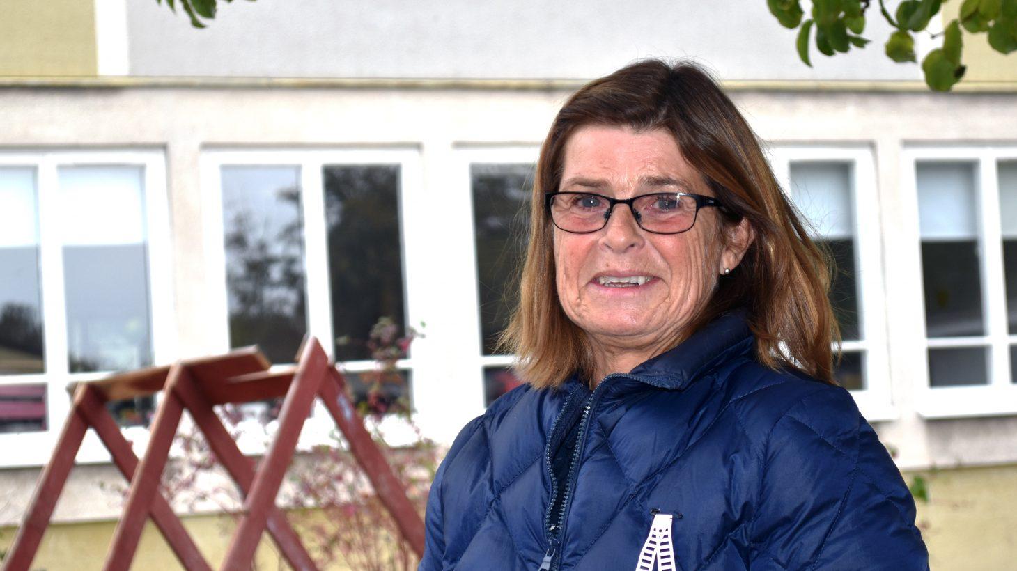 Marie-Louise Lindblad, pedagog på Sege parks förskola.