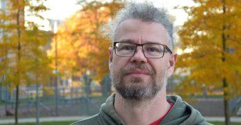 Christoffer Krämer, SO-lärare på plattformen Malmö delar.
