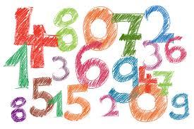 Siffror står tillsammans huller om buller.