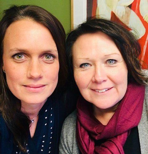 ulrika Wirgin och Nina Svensson.