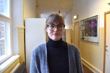 Lo Söllgård, historie- och svenskalärare på S:t Petri skola.