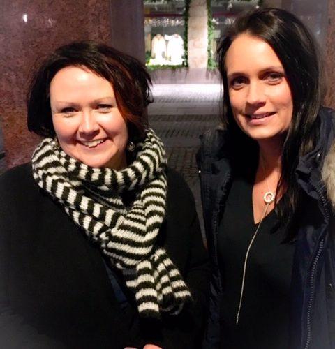 Nina Svensson och Ulrika Wirgin.